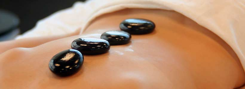 Hot Stone Massage Therapy Header