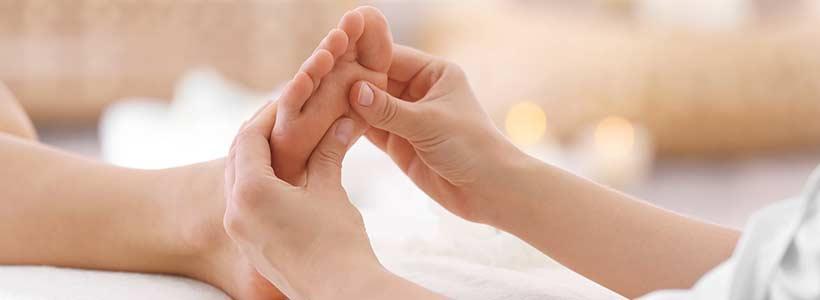 Reflexology Massage Header