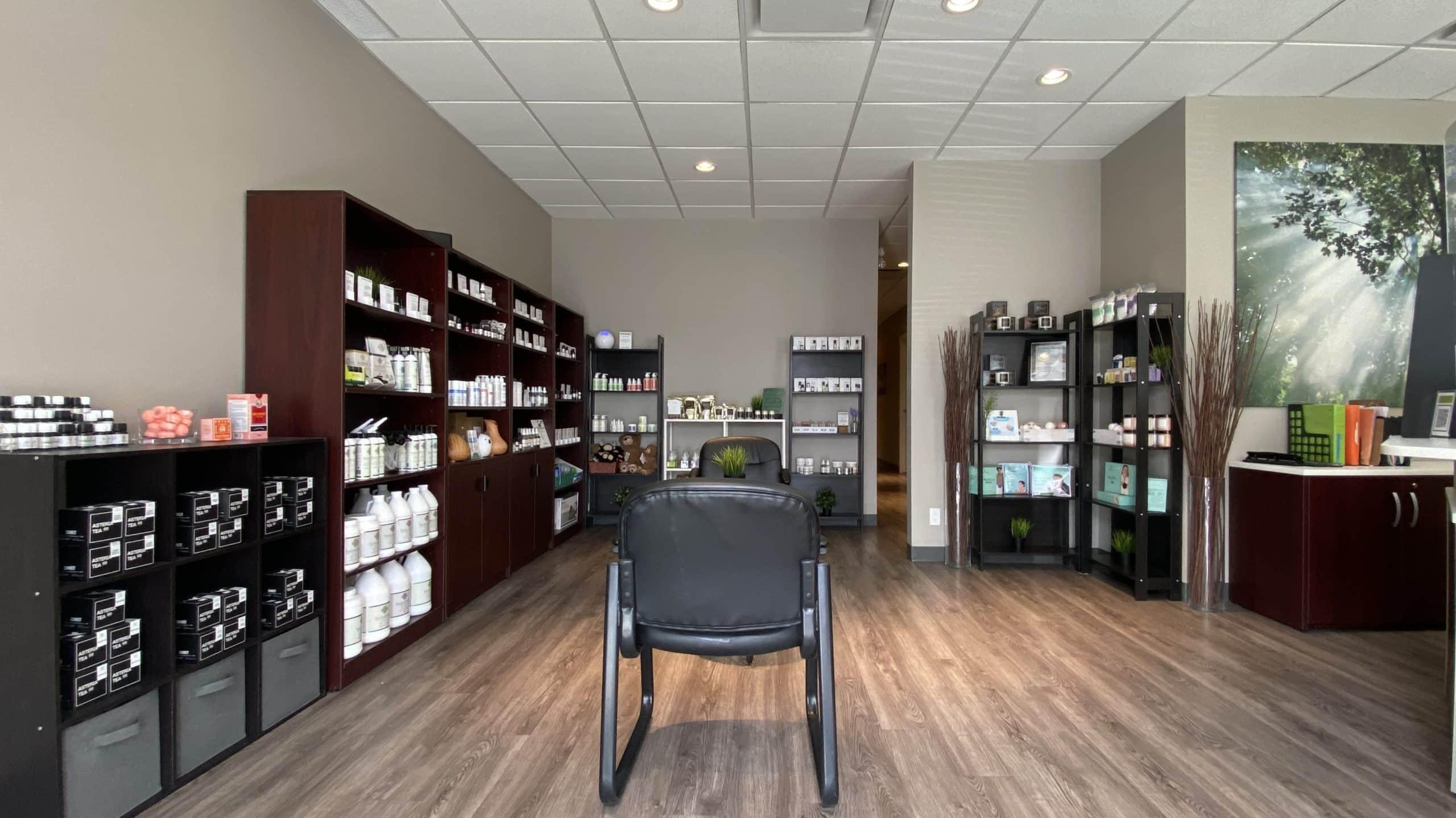 SW Massage and Wellness - Interior